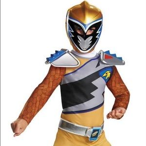 Other - Boys Power Rangers Dino Charge Gold Ranger Costume